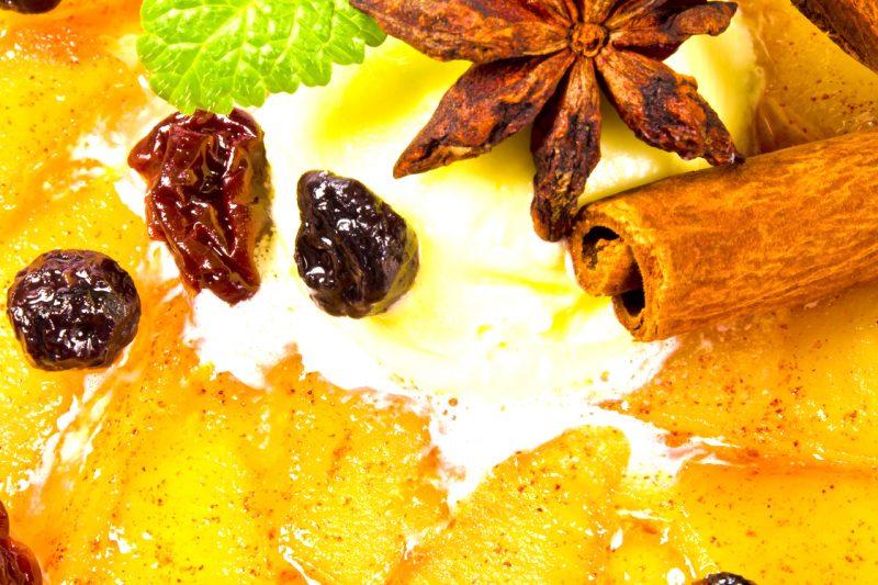 Apfeltarte mit Blätterteig