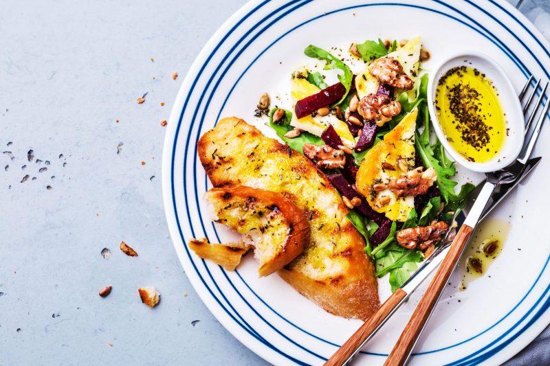 Halloumi-Salat