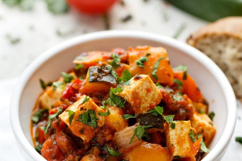 Hausgemachtes Tofu-Stir-Fry