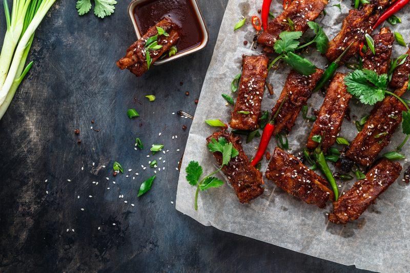 Rippchen Asia Style mit Sesamsaat
