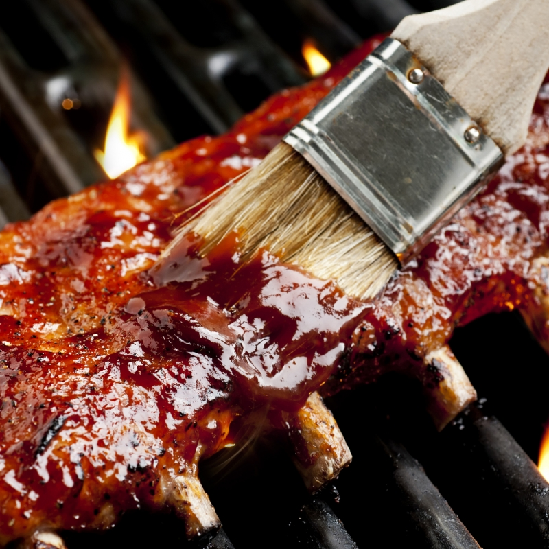 Spare Ribs vom Grill 1