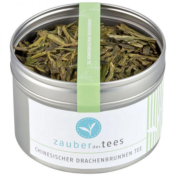 Chinesischer Drachenbrunnen Tee