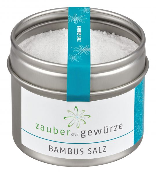 Bambus Salz Im Online Shop Kaufen Zauber Der Gewurze