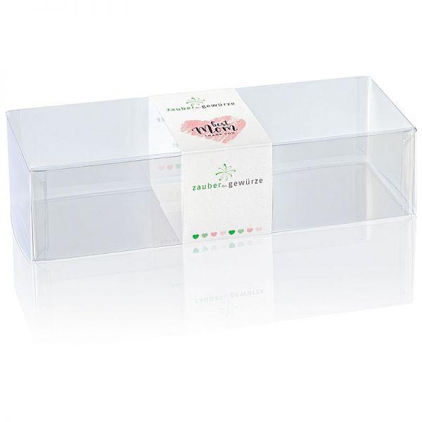 Klarsicht-Box best Mom 3-er (leer) für eigene Gewürz-Auswahl