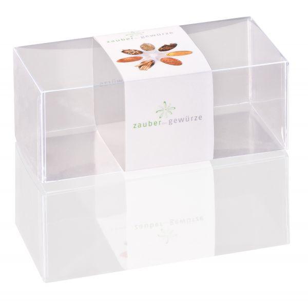 Klarsicht-Box 2-er (leer) für eigene Gewürz-Auswahl