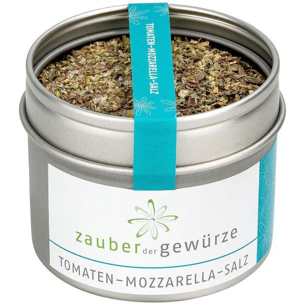 Tomaten-Mozzarella-Salz