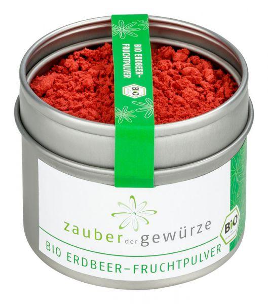 Bio Erdbeer-Fruchtpulver