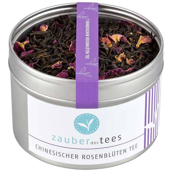 Chinesischer Rosenblüten Tee