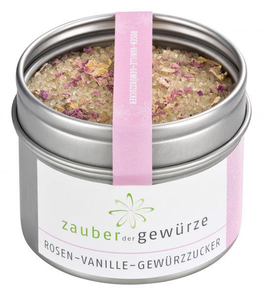 Rosen-Vanille-Gewürzzucker