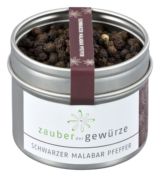 Schwarzer Malabar Pfeffer