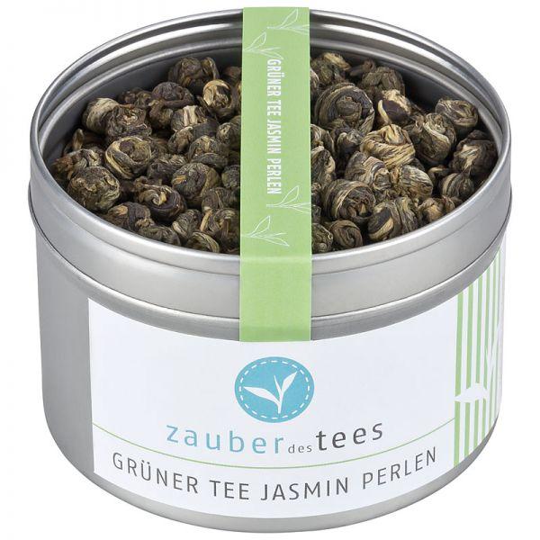 Grüner Tee Jasmin Perlen