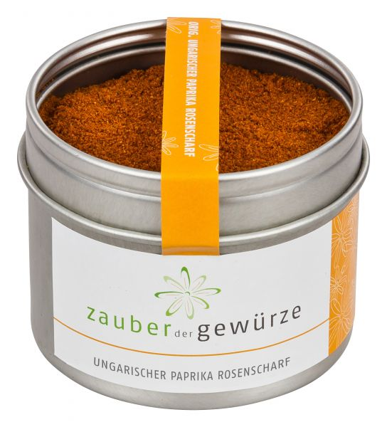 Ungarische Paprika rosenscharf